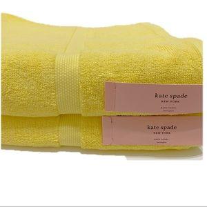 "Kate Spade Bath Harrington Towel 30"" X 56"""